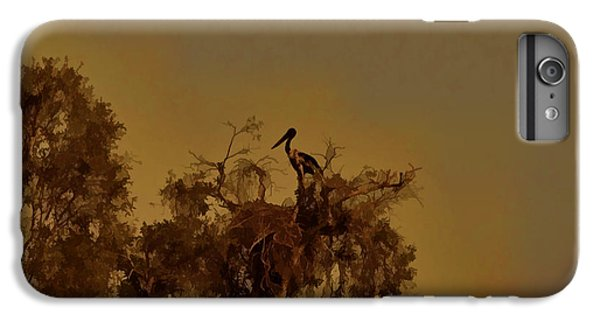 Nesting Jabiru  IPhone 7 Plus Case by Douglas Barnard
