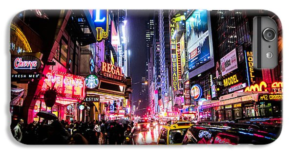 New York City Night IPhone 7 Plus Case by Nicklas Gustafsson