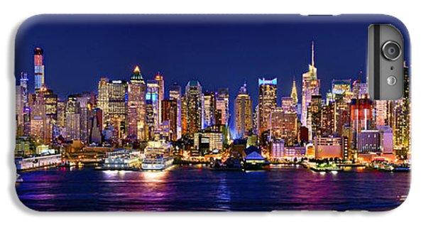 New York City Nyc Midtown Manhattan At Night IPhone 7 Plus Case