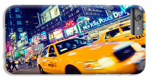 New York - Times Square IPhone 7 Plus Case by Alexander Voss
