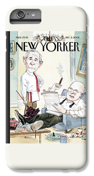 New Yorker December 5th, 2005 IPhone 7 Plus Case by Barry Blitt