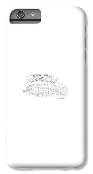 Yankee Stadium iPhone 7 Plus Case - New Yorker June 15th, 1987 by Michael Maslin