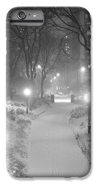 IPhone 7 Plus Case featuring the photograph Night Storm New York by Dave Beckerman