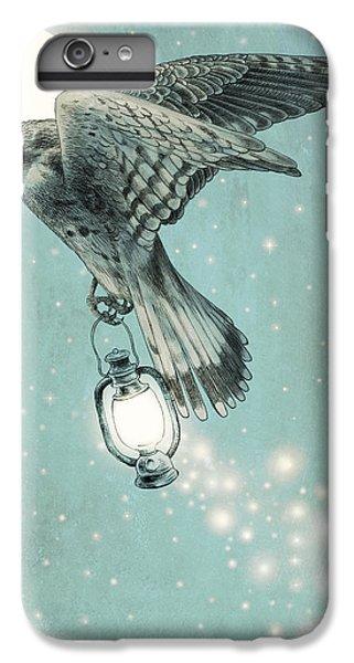 Moon iPhone 7 Plus Case - Nighthawk by Eric Fan