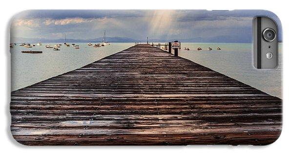 Jet Ski iPhone 7 Plus Case - No Swimming by Mitch Shindelbower