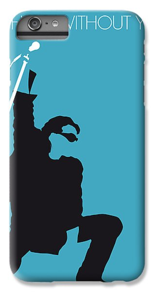 Musicians iPhone 7 Plus Case - No035 My U2 Minimal Music Poster by Chungkong Art