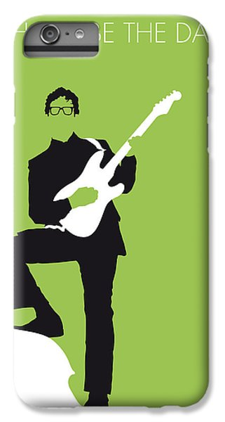 Guitar iPhone 7 Plus Case - No056 My Buddy Holly Minimal Music Poster by Chungkong Art