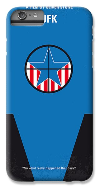 Dallas iPhone 7 Plus Case - No111 My Jfk Movie Poster by Chungkong Art