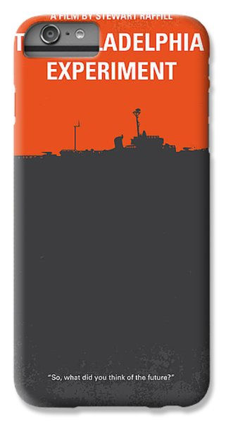 Philadelphia iPhone 7 Plus Case - No126 My The Philadelphia Experiment Minimal Movie Poster by Chungkong Art