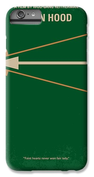 Robin iPhone 7 Plus Case - No237 My Robin Hood Minimal Movie Poster by Chungkong Art