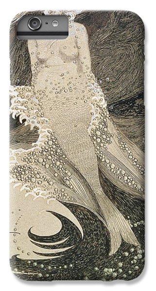 The Mermaid IPhone 7 Plus Case by Sidney Herbert Sime