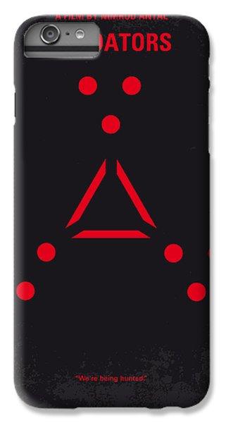 No289 My Predators Minimal Movie Poster IPhone 7 Plus Case by Chungkong Art