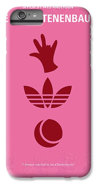 No320 My The Royal Tenenbaums Minimal Movie Poster IPhone 7 Plus Case by Chungkong Art