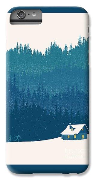 Niagra Falls iPhone 7 Plus Case - Nordic Ski Scene by Sassan Filsoof