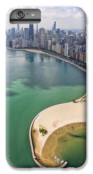 North Avenue Beach Chicago Aerial IPhone 7 Plus Case