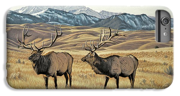 Bull iPhone 7 Plus Case - North Of Yellowstone by Paul Krapf