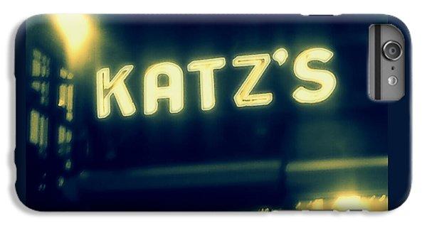 Nyc's Famous Katz's Deli IPhone 7 Plus Case by Paulo Guimaraes