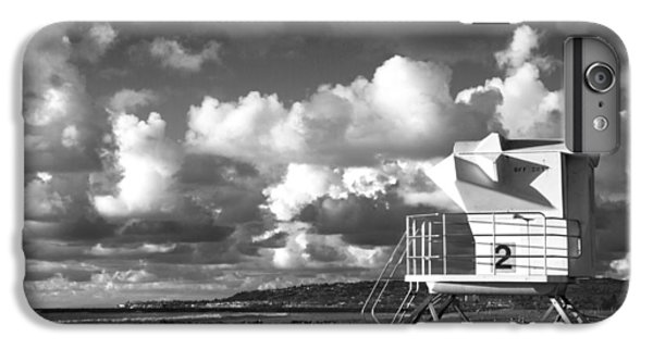 Ocean Beach Lifeguard Tower IPhone 7 Plus Case by Nathan Rupert