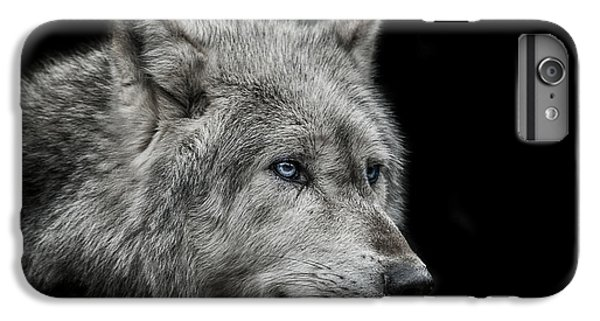 Wolves iPhone 7 Plus Case - Old Blue Eyes by Paul Neville