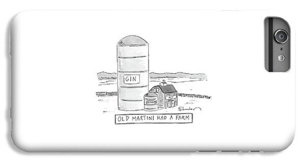 Old Martini Had A Farm IPhone 7 Plus Case