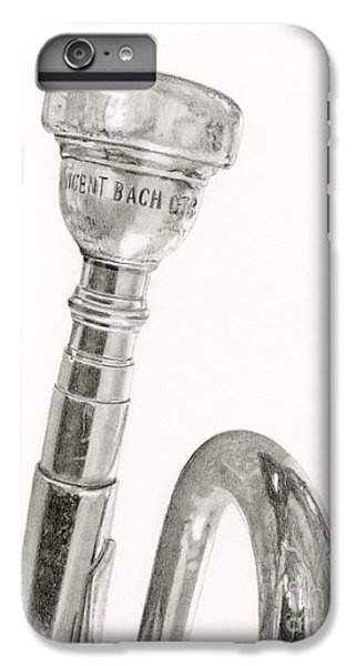 Trumpet iPhone 7 Plus Case - Old Trumpet by Sarah Batalka