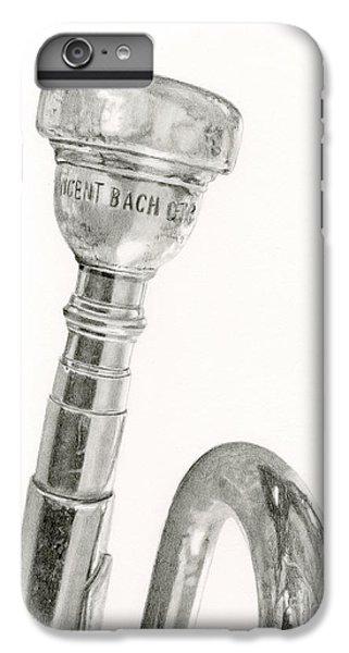 Old Trumpet IPhone 7 Plus Case by Sarah Batalka