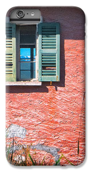 IPhone 7 Plus Case featuring the photograph Old Window With Reflection by Silvia Ganora