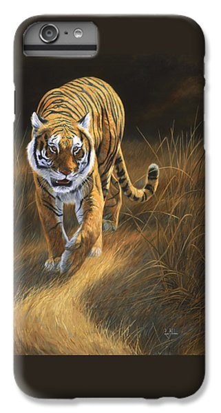 Tiger iPhone 7 Plus Case - On The Move by Lucie Bilodeau
