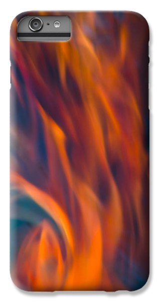 Orange Fire IPhone 7 Plus Case by Yulia Kazansky