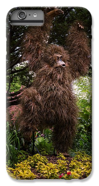 Orangutan iPhone 7 Plus Case - Orangutan by Joan Carroll