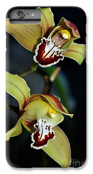 Orchids In The Evening IPhone 7 Plus Case by Kaye Menner