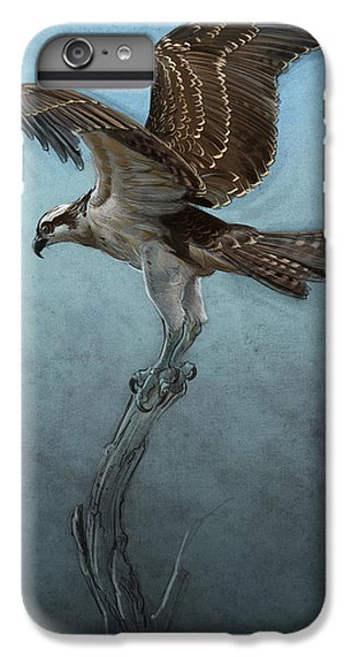 Hawk iPhone 7 Plus Case - Osprey by Aaron Blaise