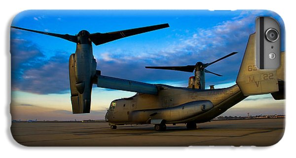 Osprey iPhone 7 Plus Case - Osprey Sunrise Series 1 Of 4 by Ricky Barnard