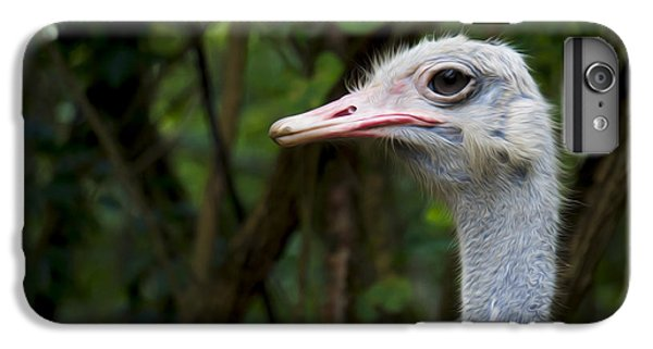 Emu iPhone 7 Plus Case - Ostrich Head by Aged Pixel