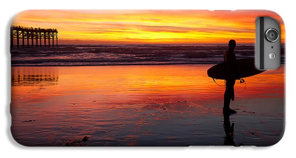 Pacific Beach Was On Fire Tonight IPhone 7 Plus Case by Nathan Rupert