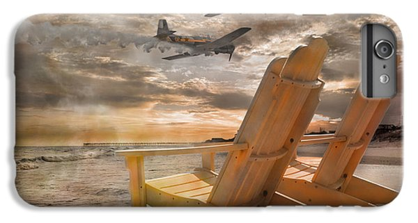 Pairs Along The Coast IPhone 7 Plus Case by Betsy Knapp