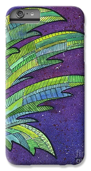 Palms Against The Night Sky IPhone 7 Plus Case by Diane Thornton
