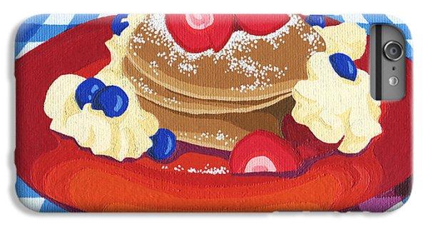Blueberry iPhone 7 Plus Case - Pancakes Week 10 by Meg Shearer