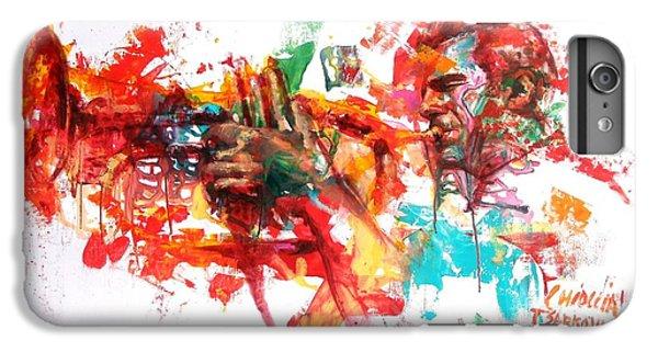 Trumpet iPhone 7 Plus Case - Paolo Fresu by Massimo Chioccia