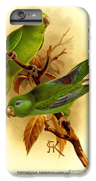 Parakeet iPhone 7 Plus Case - Parakeet by Dreyer Wildlife Print Collections