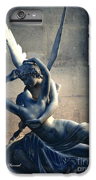 Paris Eros And Psyche Romantic Lovers - Paris In Love Eros And Psyche Louvre Sculpture  IPhone 7 Plus Case