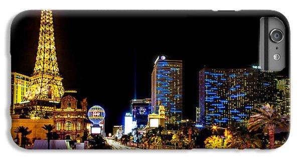 Eiffel Tower iPhone 7 Plus Case - Welcome To Vegas by Az Jackson