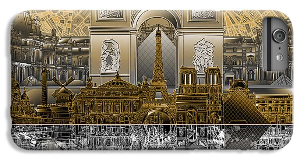 Paris Skyline Landmarks 5 IPhone 7 Plus Case