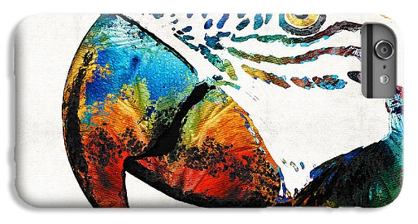 Parrot iPhone 7 Plus Case - Parrot Head Art By Sharon Cummings by Sharon Cummings