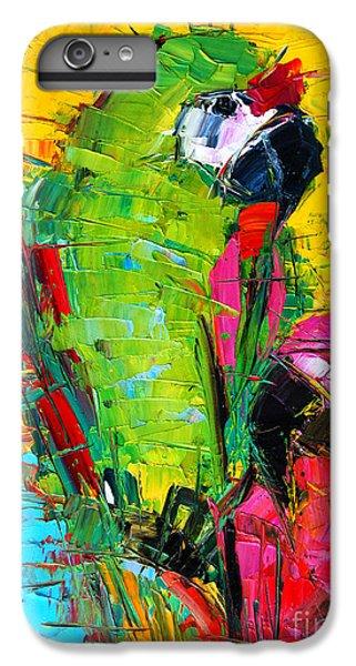 Parrot Lovers IPhone 7 Plus Case by Mona Edulesco