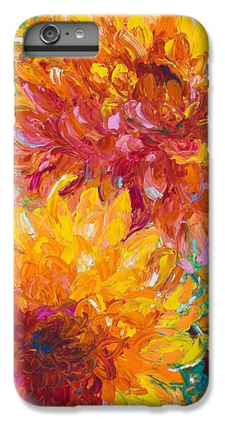 Impressionism iPhone 7 Plus Case - Passion by Talya Johnson