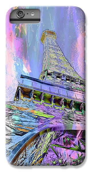 Pastel Tower IPhone 7 Plus Case by Az Jackson