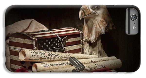 Eagle iPhone 7 Plus Case - Patriotism by Tom Mc Nemar