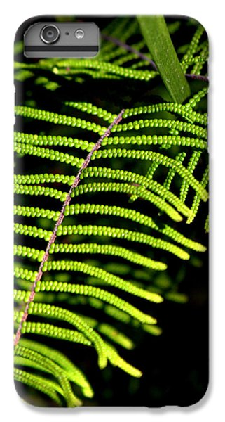 IPhone 7 Plus Case featuring the photograph Pauched Coral Fern by Miroslava Jurcik