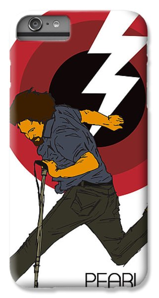 Pearl Jam Lightning Bolt IPhone 7 Plus Case by Tomas Raul Calvo Sanchez